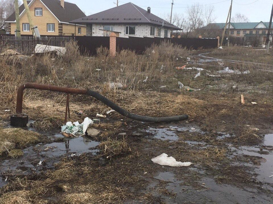 Чтобы посёлок Трубный перестал тонуть вфекалиях, нужно 1,5 млн руб.