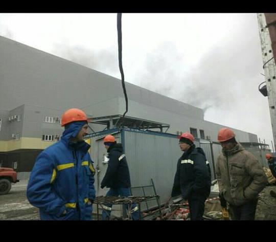 Михеевский ГОК горел в Челябинской области