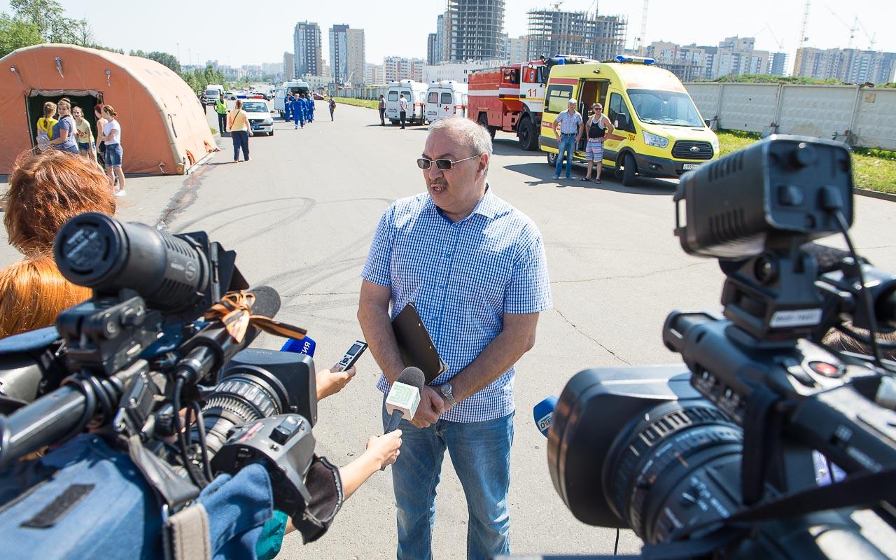 Александр Васильев, главный врач станции скорой помощи Челябинска