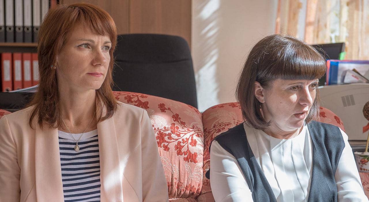 Марина Ушакова и Светлана Узбекова