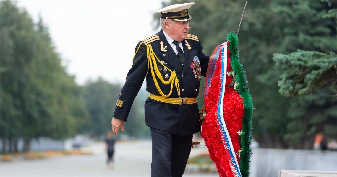 Делегация Тихоокеанского флота отметила в Челябинске День ВМФ