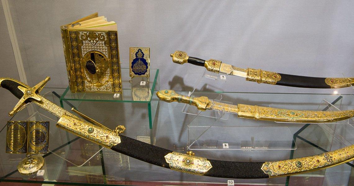 Златоустовское украшенное оружие
