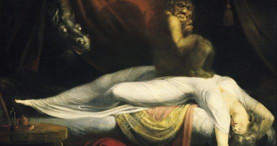 Картина Иоганна Фюссли «Ночной кошмар»